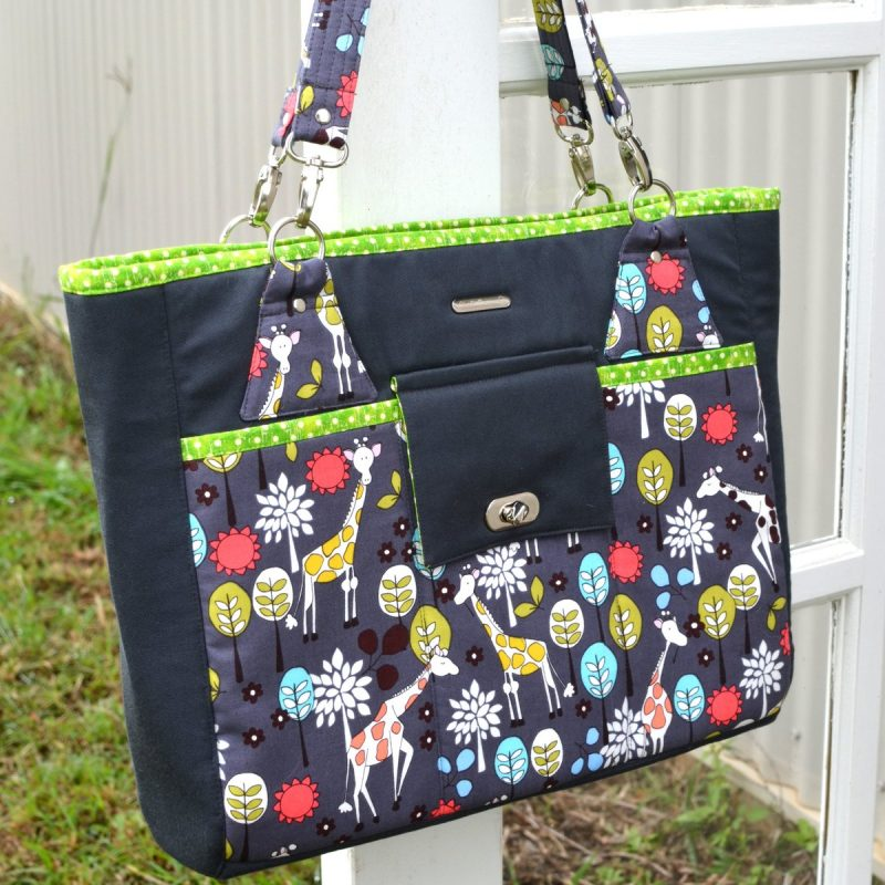 The Stow It All Tote - A ChrisW Designs Designer Bag Sewing Pattern