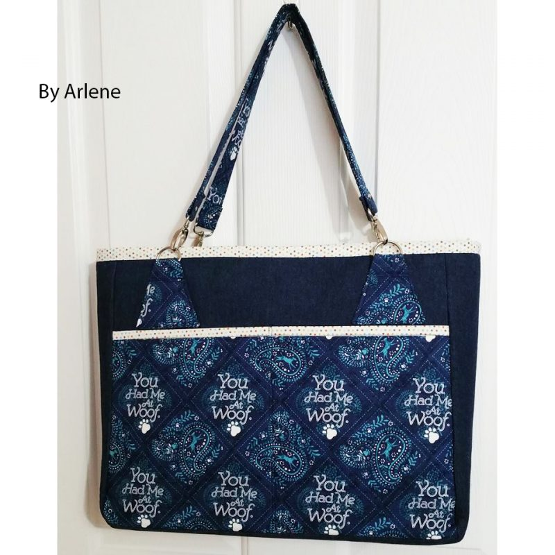 The Stow It All Tote by Arlene