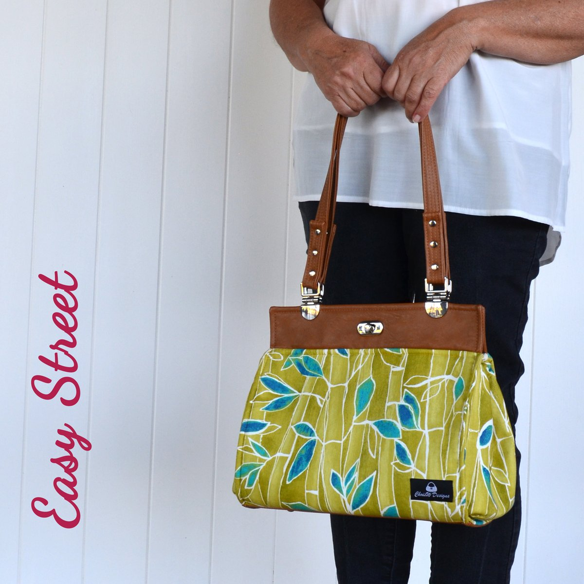 Daryl's Drive – A ChrisW Designs Easy Street Designer Bag Sewing Pattern. Sew & Sell!