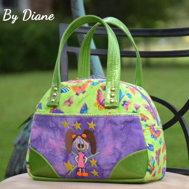 The Bodacious Bowler Bag by Diane