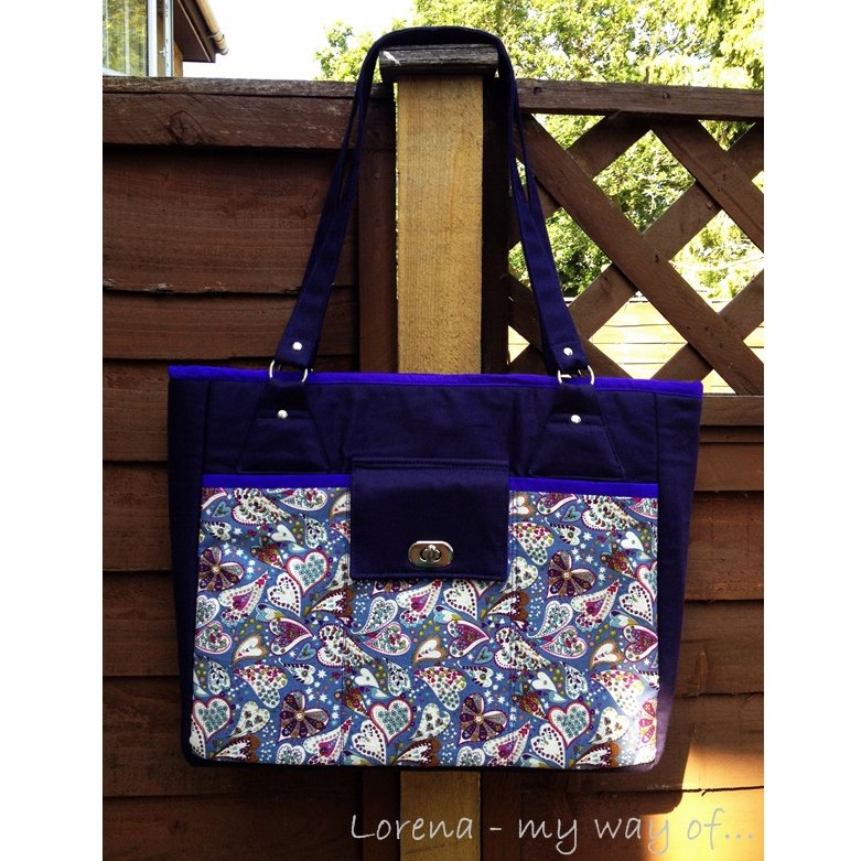 The Stow It All Tote by Lorena