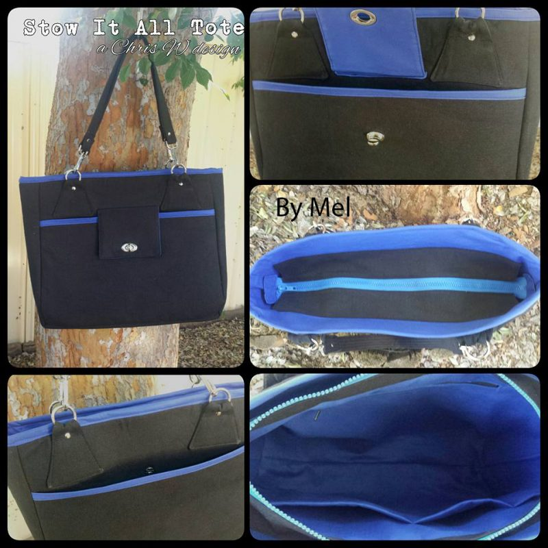The Stow It All Tote by Mel