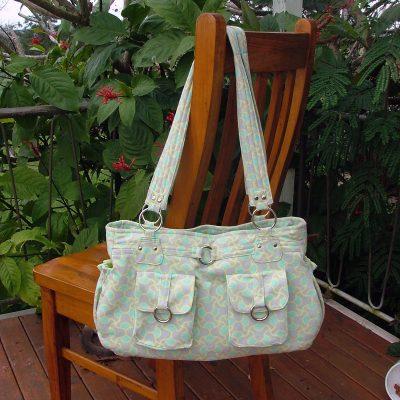 a2fd70464b4  10.95  Olivia - A ChrisW Designs Advanced PDF Designer Bag sewing Pattern