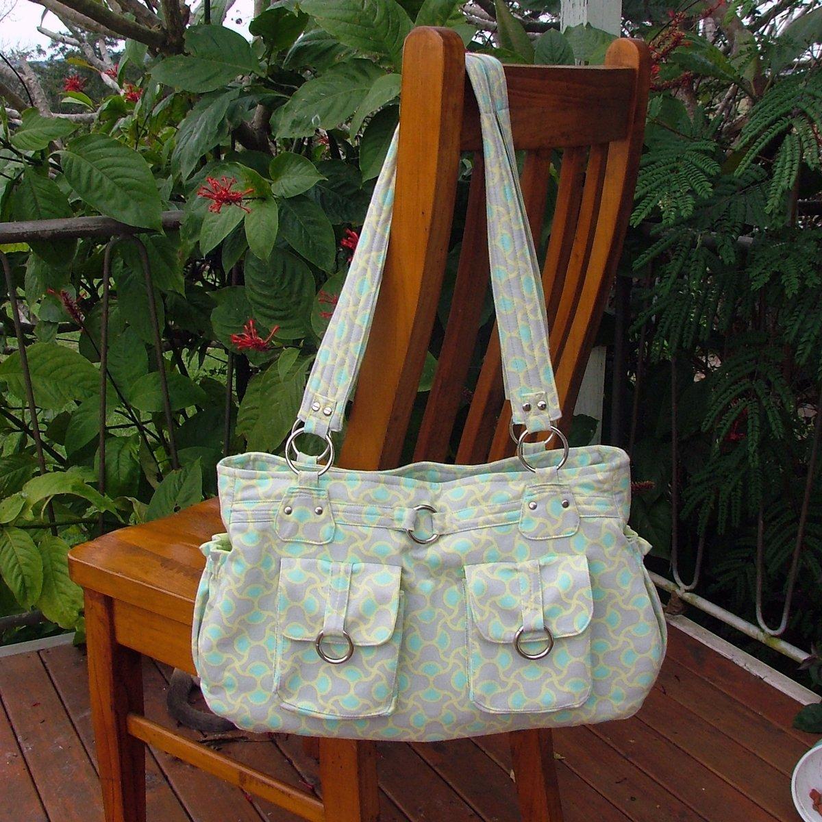 Olivia – A ChrisW Designs Advanced PDF Designer Bag sewing Pattern