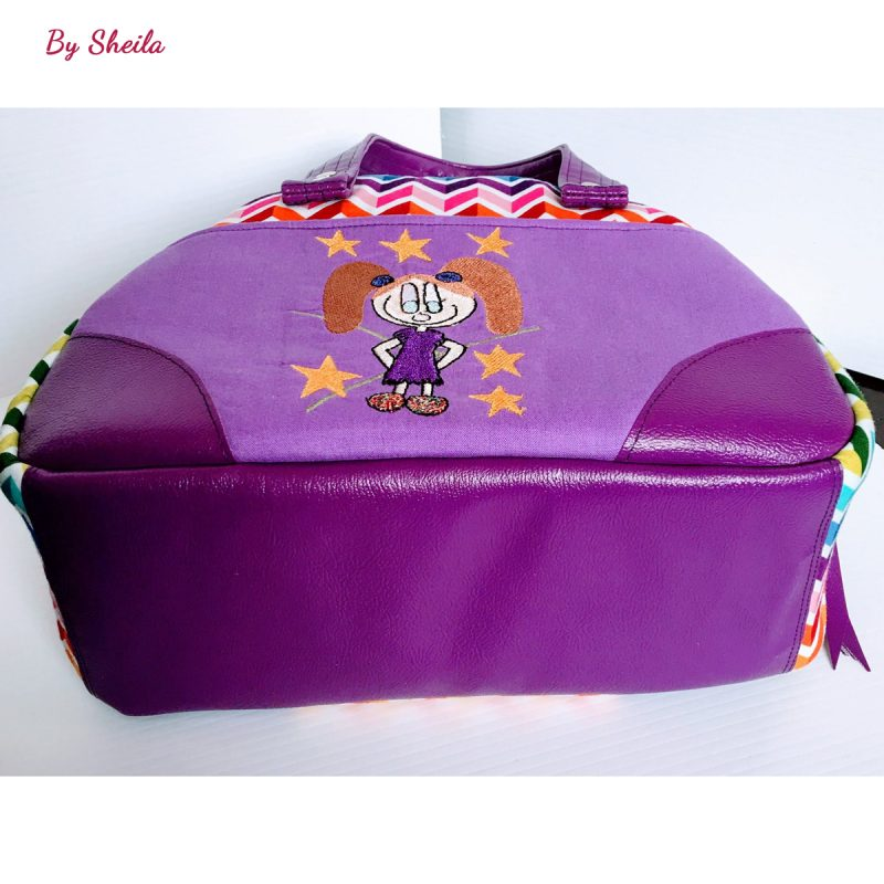 The Bodacious Bowler Bag by Sheila
