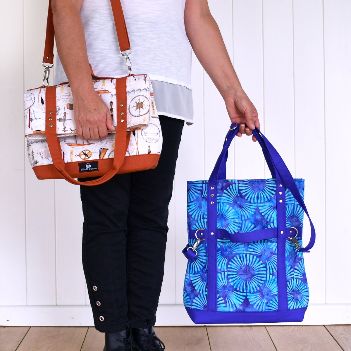 Gabbie's Grove – A ChrisW Designs Easy Street Sew & Sell Designer Bag Pattern
