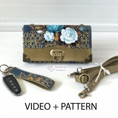 The Penny Inn - A ChrisW Designs Designer Wallet Sewing Pattern + Video Course