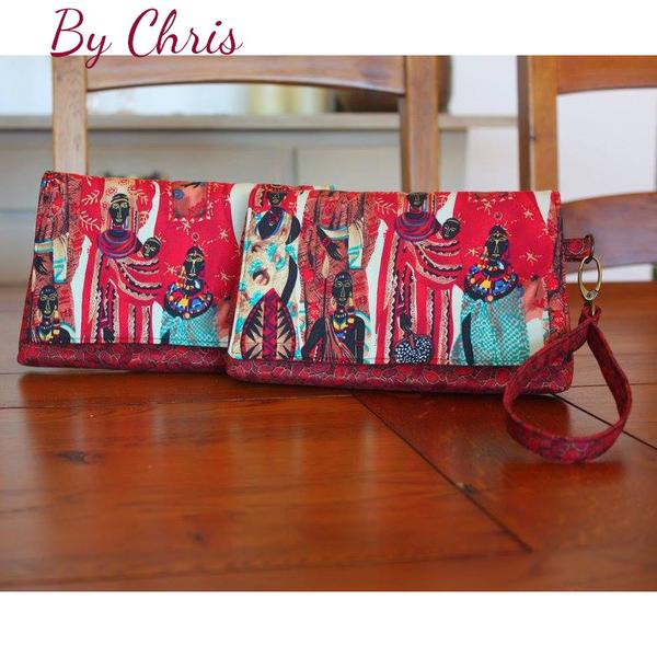 The Kiss Clutch by Chris