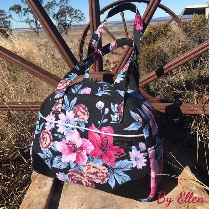 The Bodacious Bowler Bag by Ellen