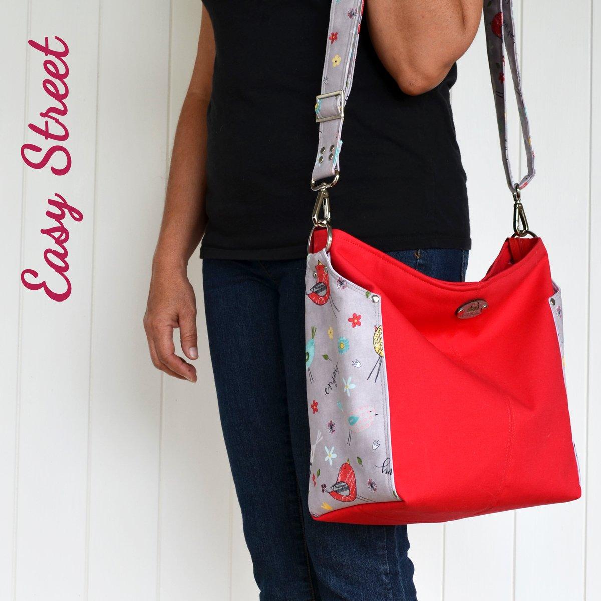 Ellen's Esplanade – A ChrisW Designs Easy Street PDF Bag Sewing Pattern