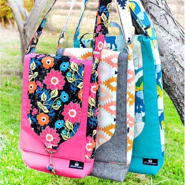 Gizmo Garage – A ChrisW Designs Designer Tech Bag sewing Pattern