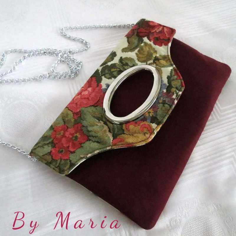 Chloe's Court Clutch by Maria