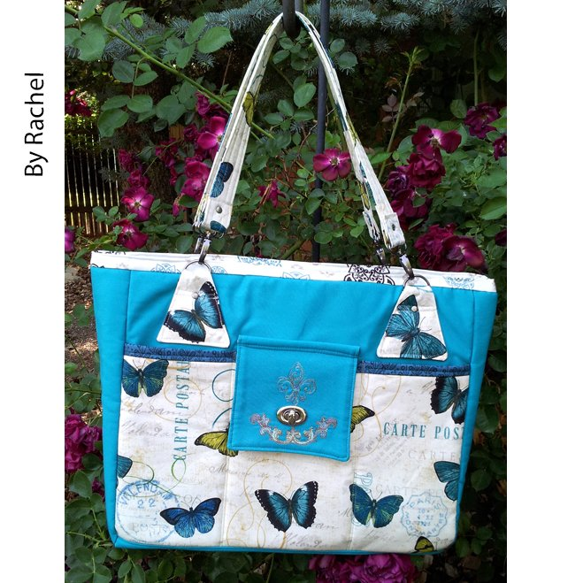 The Stow It All Tote by Rachel