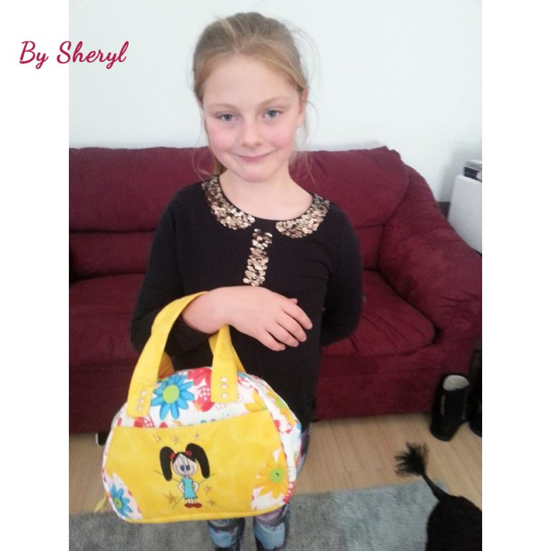 The Bodacious Bowler Bag by Sheryl