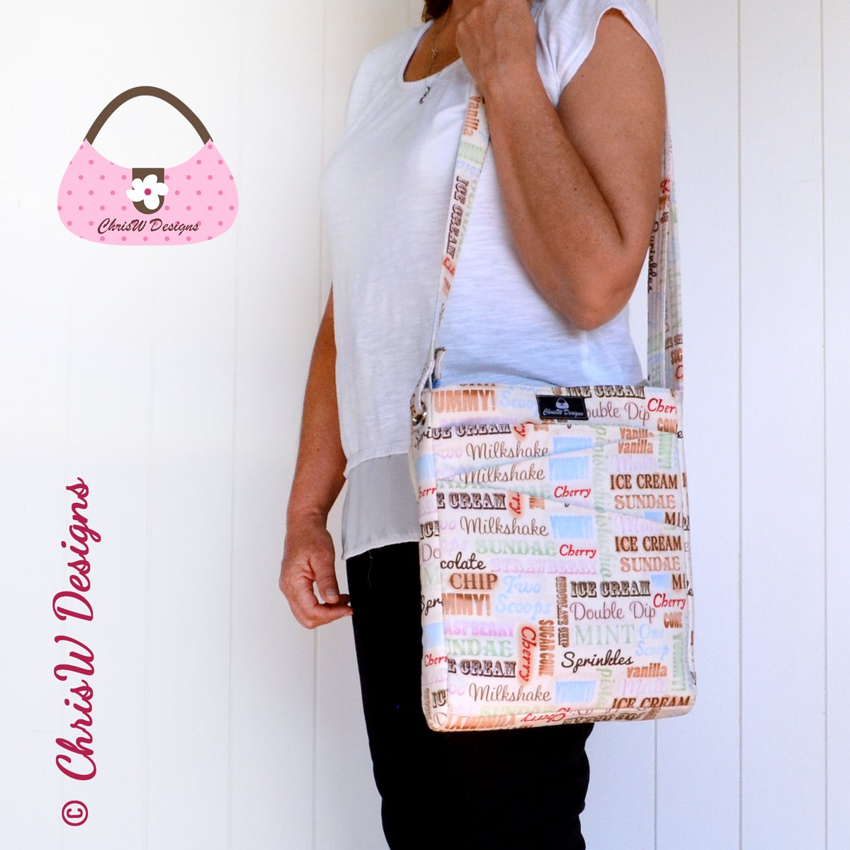 Lombard Street – A ChrisW CDesigns Designer bag Sewing Pattern