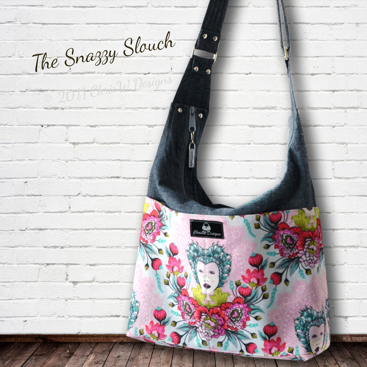 The Snazzy Slouch – A ChrisW Designs Designer Bag Sewing Pattern