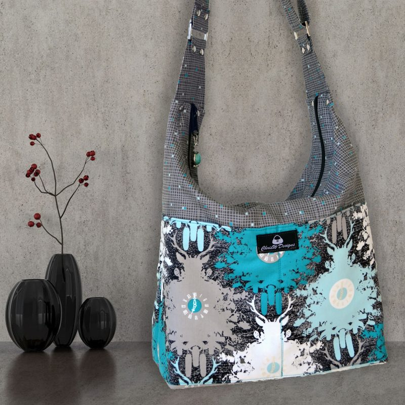 The Snazzy Slouch - A ChrisW Designs Designer Bag Sewing Pattern