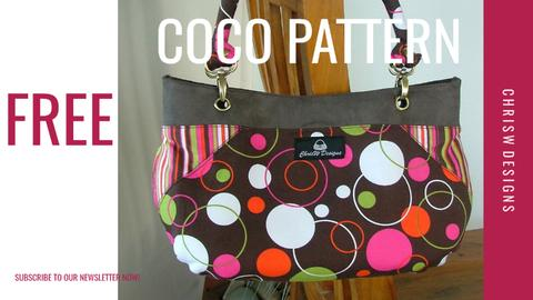 Free Coco Pattern for Newsletter Subscribers