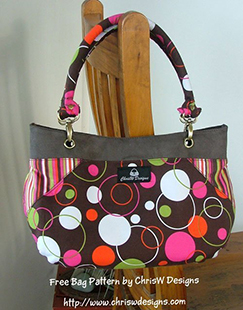 Coco - A free bag Pattern for Newsletter Subscribers