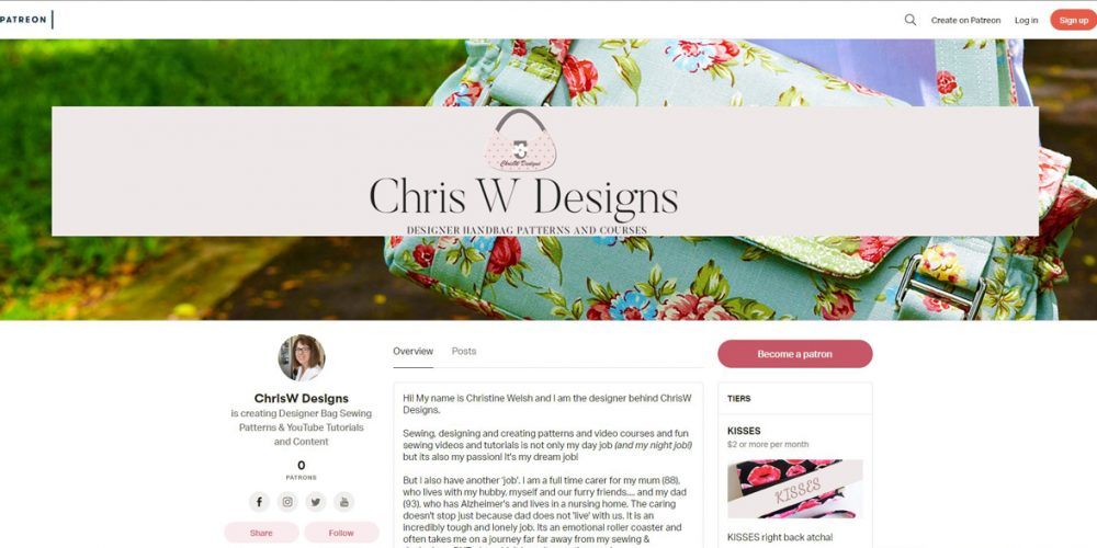 ChrisW Designs on Patreon