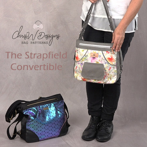 The Strapfield Convertible - A ChrisW Designs PDF Bag Sewing Pattern